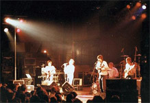 1983 Mosquitos open for The Ramones - Click for a larger image.